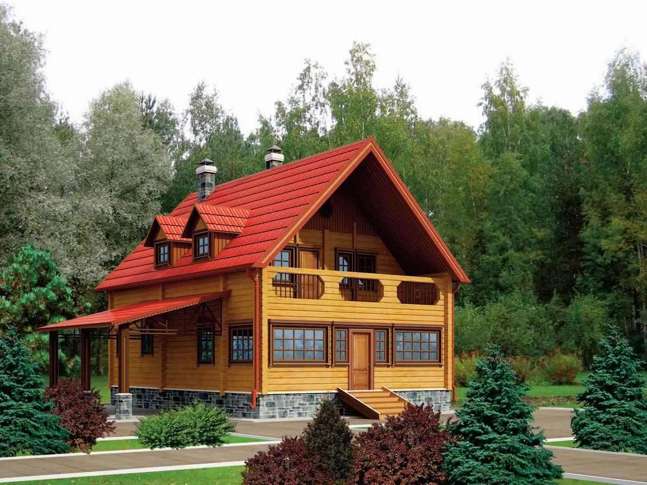 Строительство деревянных домов под ключ! деревянные дома под ключ из
